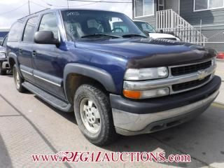 Used 2003 Chevrolet SUBURBAN  4D UTILITY 4WD for sale in Calgary, AB