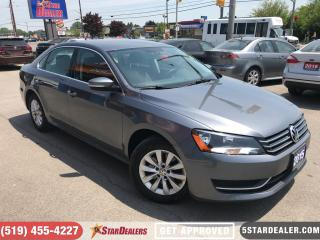 Used 2015 Volkswagen Passat 1.8 TSI Trendline | ONE OWNER | HEATED SEATS for sale in London, ON