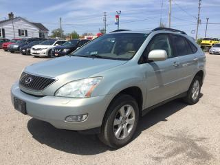 Used 2007 Lexus RX 350 AWD * LEATHER * SUNROOF * HEATED SEATS * SAT RADIO SYSTEM for sale in London, ON