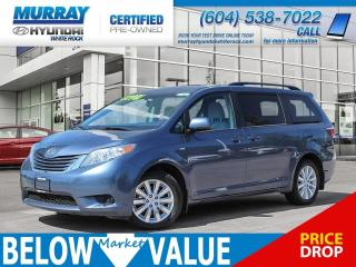 Used 2016 Toyota Sienna LE AWD **HEATED SEATS**BLUETOOTH**REAR CAMERA** for sale in Surrey, BC