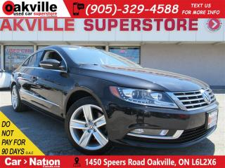 Used 2014 Volkswagen Passat CC Sportline | LEATHER | SUNROOF | B/U CAM | BT for sale in Oakville, ON