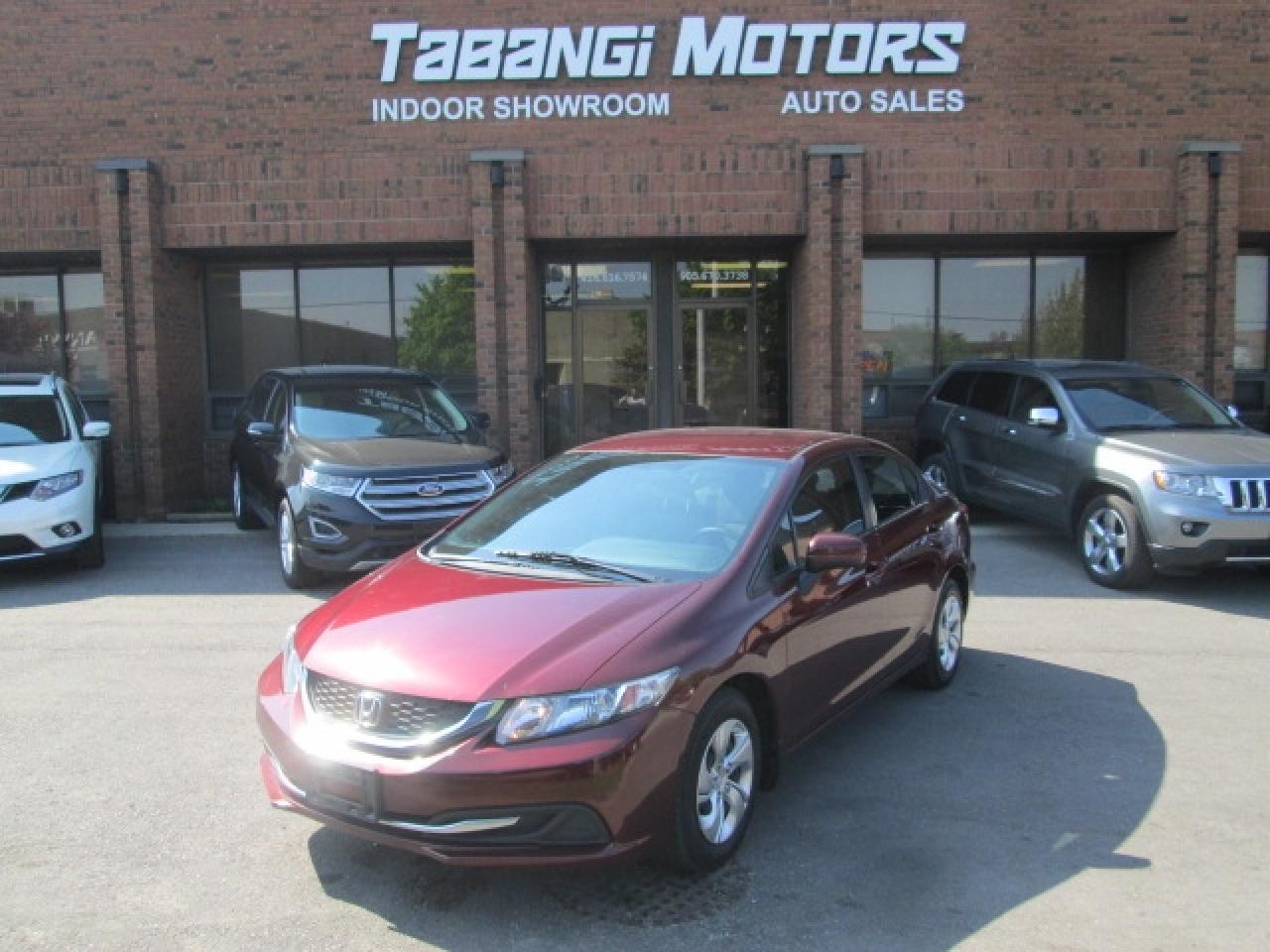 2014 Honda Civic LX | NO ACCIDENT | HEATED SEATS | BLUETOOTH |