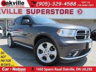 Used 2015 Dodge Durango SXT | 7 PASS | BLUETOOTH | AWD | REAR CLIMATE for sale in Oakville, ON
