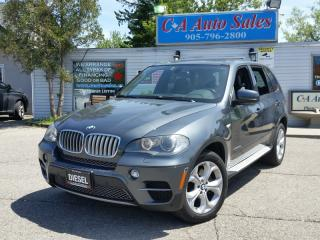 Used 2011 BMW X5 DIESEL GAS PRICES ? NAVI AND ACCIDENT FREE for sale in Brampton, ON