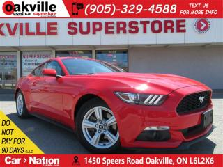 Used 2015 Ford Mustang V6 | BLUETOOTH | B/U CAM | PUSH START | HTD SEATS for sale in Oakville, ON