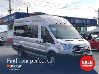 Used 2016 Ford Transit Passenger Wagon 15 Passenger, Diesel Powered, Super Clean for sale in Vancouver, BC