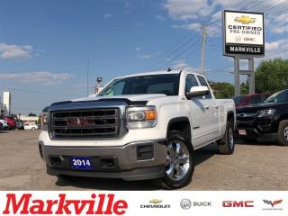 Used 2014 GMC Sierra 1500 SLE- GM CERTIFIED- NEW TIRES AND BRAKES for sale in Markham, ON