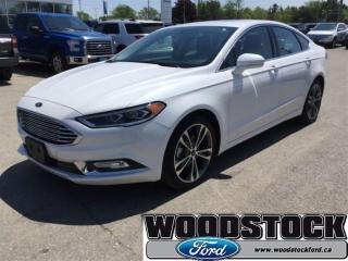 Used 2017 Ford Fusion Titanium Certified PRE OWN 1.99 UP TO 72 OAC for sale in Woodstock, ON