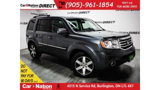 Used 2013 Honda Pilot Touring| 4X4| LEATHER| SUNROOF| NAVI| for sale in Burlington, ON
