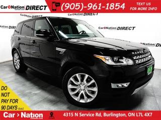 Used 2015 Land Rover Range Rover Sport V6 SE| PANO ROOF| NAVI| WE WANT YOUR TRADE| for sale in Burlington, ON