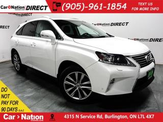 Used 2015 Lexus RX 350 Sportdesign| SUNROOF| NAVI| BLIND SPOT DETECTION| for sale in Burlington, ON