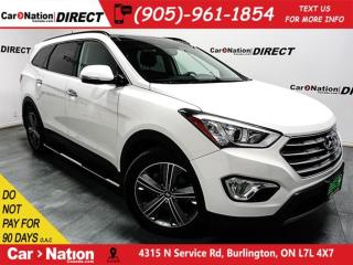 Used 2015 Hyundai Santa Fe XL Limited w/6 Passenger for sale in Burlington, ON