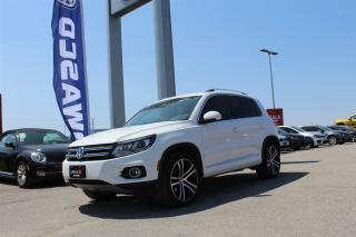Used 2017 Volkswagen Tiguan Highline for sale in Whitby, ON