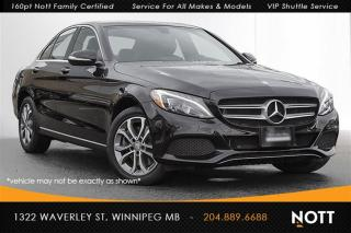 Used 2015 Mercedes-Benz C-Class C300 4MATIC Navigation Pano Ro for sale in Winnipeg, MB