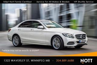 Used 2015 Mercedes-Benz C-Class C300 4MATIC Prem 1 & 2 PKG Spo for sale in Winnipeg, MB