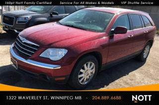 Used 2007 Chrysler Pacifica Touring AWD DVD Sunroof Heated for sale in Winnipeg, MB