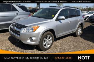 Used 2011 Toyota RAV4 Limited V6 AWD Backup Camera S for sale in Winnipeg, MB