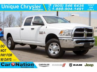 Used 2018 RAM 2500 SXT| 5TH WHEEL TOWING PREP GRP| REAR CAM & MORE! for sale in Burlington, ON