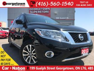 Used 2013 Nissan Pathfinder SL BACKUP CAM | LEATHER| POWER TAILGATE 4X4 for sale in Georgetown, ON