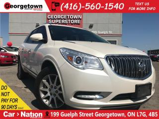 Used 2015 Buick Enclave NAV | SUNROOF | BACKUP CAM | LEATHER| AWD for sale in Georgetown, ON