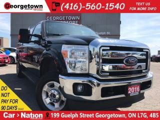 Used 2016 Ford F-250 XLT | DIESEL | 4X4 | CREW | CAP | BACK UP CAM | for sale in Georgetown, ON