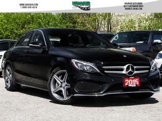 Used 2015 Mercedes-Benz C-Class 400 4MATIC for sale in North York, ON