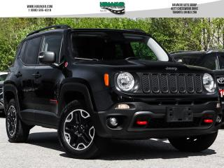 Used 2016 Jeep Renegade Trailhawk  Leather NAV for sale in North York, ON
