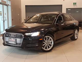 Used 2017 Audi A4 PROGRESSIV-AWD-NAVIGATION-CAMERA-ONLY 63KM for sale in York, ON