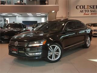 Used 2014 Volkswagen Passat 1.8 TSI HIGHLINE-AUTO-NAVIGATION-LEATHER-SUNROOF-L for sale in York, ON