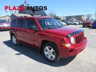 Used 2010 Jeep Patriot Sport/North for sale in Boischatel, QC