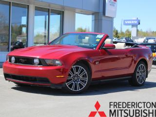 Used 2010 Ford Mustang GT CONVERTIBLE   HEATED LEATHER for sale in Fredericton, NB