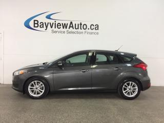 Used 2015 Ford Focus - 5 SPD! ALLOYS! SUNROOF! A/C! SYNC! CRUISE! for sale in Belleville, ON