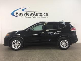 Used 2014 Nissan Rogue SV - ALLOYS! PANOROOF! PUSH BTN! HTD STS! REV CAM! CRUISE! for sale in Belleville, ON