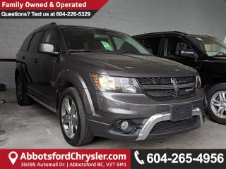Used 2017 Dodge Journey Crossroad *ACCIDENT FREE* *LOCALLY DRIVEN* for sale in Abbotsford, BC