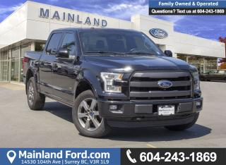 Used 2016 Ford F-150 Lariat *ACCIDENT FREE* *LOCALLY DRIVEN* for sale in Surrey, BC