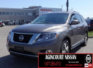 Used 2014 Nissan Pathfinder Platinum |NAVIGATION|DVD|LEATHER|360 CAMERA| for sale in Scarborough, ON