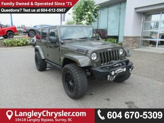 Used 2015 Jeep Wrangler Unlimited Sahara for sale in Surrey, BC