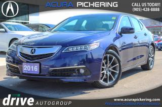 Used 2016 Acura TLX Elite for sale in Pickering, ON