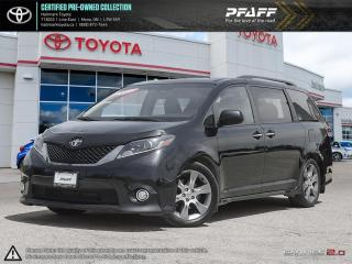 Used 2015 Toyota Sienna SE 8-Pass V6 6A FULLY LOADED TECH PACKAGE, NAVI, LEATHER SUNROOF AND MORE for sale in Mono, ON