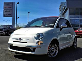 Used 2013 Fiat 500 C LOUNGE *CONVERTIBLE* for sale in Brossard, QC