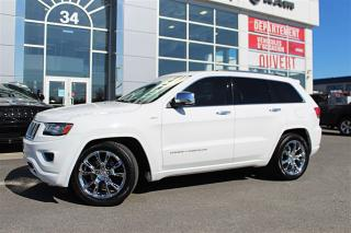 Used 2014 Jeep Grand Cherokee Overland for sale in Victoriaville, QC