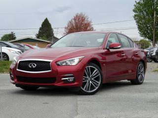 Used 2015 Infiniti Q50 LIMITED + AWD + PREMIUM/NAV PACK + MAGS for sale in Magog, QC