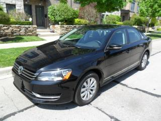 Used 2013 Volkswagen Passat TRENDLINE, NEW BRAKES, CERTIFIED, 98000KMS!!! for sale in Etobicoke, ON