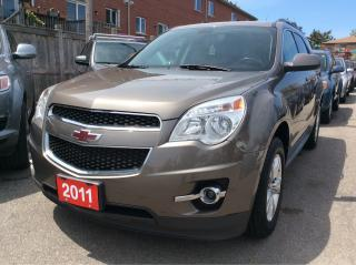 Used 2011 Chevrolet Equinox 1LT/Alloys/Power Seats/Blue Tooth/ for sale in Scarborough, ON