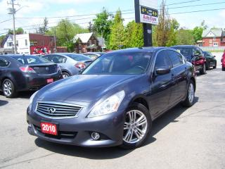 Used 2010 Infiniti G37X  Sport for sale in Kitchener, ON