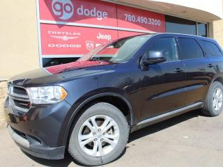 Used 2013 Dodge Durango SXT All Wheel Drive / Rear Back Up Camera for sale in Edmonton, AB