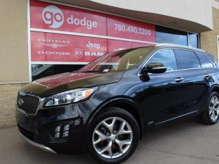 Used 2017 Kia Sorento SX V6 All Wheel Drive / GPS Navigation / Back Up Camera for sale in Edmonton, AB
