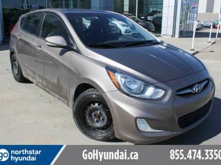 Used 2013 Hyundai Accent GLS/SUNROOF/HEATEDSEATS/BLUETOOTH for sale in Edmonton, AB