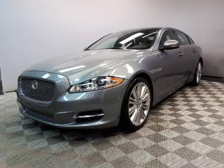 Used 2013 Jaguar XJ XJL Portfolio 3.0L AWD - Local Alberta Trade In | No Accidents | 3M Protection Applied | Bluetooth | Rear Window Sunshades | Suede Headliner | Navigation | Wood/Leather Heated Steering Wheel | Heated/Cooled Front/Rear Seats | Adaptive Headlamps with Auto  for sale in Edmonton, AB