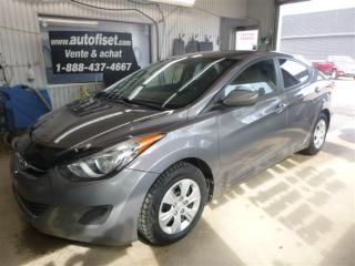 Used 2011 Hyundai Elantra GL for sale in Saint-raymond, QC